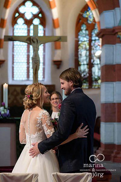 Marina und Jörg, Hochzeitsfotografie Gießen - Hochzeit in der evangelischen Stadtkirche in Laubach