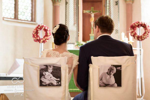 Hochzeitsfotos Marburg: Brautpaar vor dem Altar