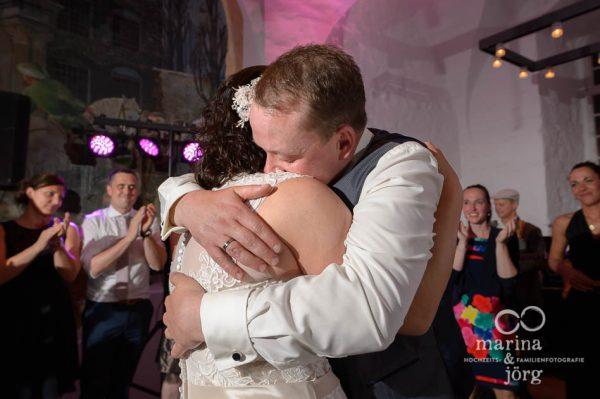Hochzeitsfotos voller Emotionen - Hochzeitsreportage Schloss Butzbach