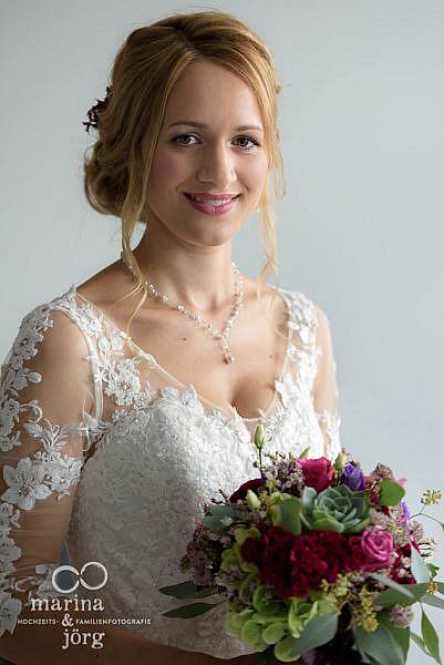 Hochzeitsfotograf für Gießen: Portrait der wundervollen Braut - Hochzeit bei Gießen