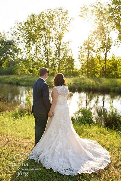 Hochzeit bei Gießen - Was für ein tolles Brautkleid