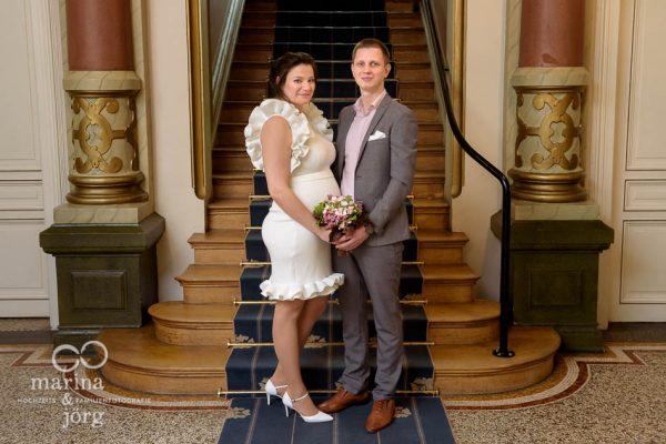 Hochzeit im Standesamt der Villa Leutert in Gießen