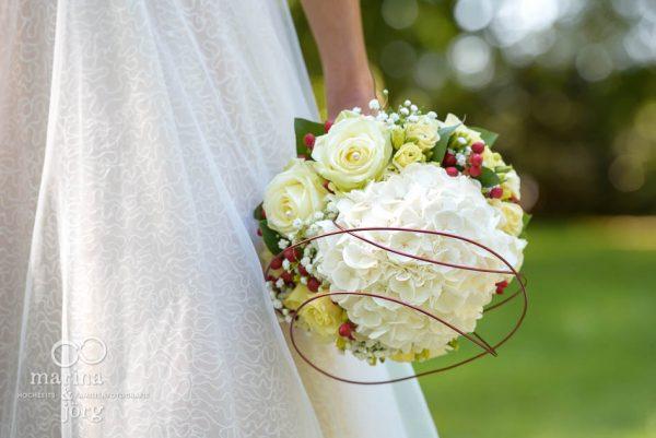 Hochzeit bei Gießen - Was für ein tolles brautstrauß