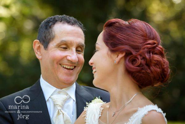 Fotografen-Paar aus Hessen: Hochzeit in der Schloss Buseck bei Gießen