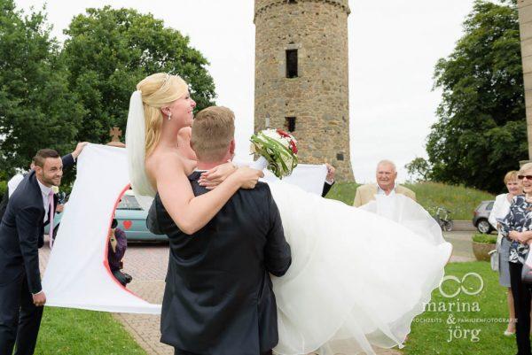 Hochzeit in Wittelsberg, Hochzeitsreportage