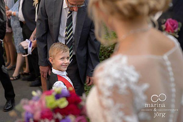 Hochzeits-Fotograf Laubach: die kleinen Gäste geben jeder Hochzeitsreportage oft die Besten Bilder