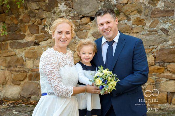 Hochzeitsfotos im Raum Marburg, Gießen, Wetzlar  - Heiraten mit Kind