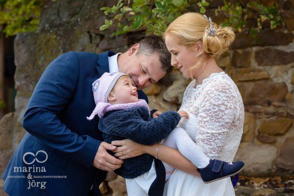 entspannte Hochzeitsfotos  - Heiraten mit Kind