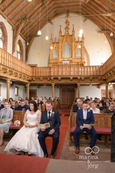 Hochzeit in der Kirche Annerod bei Gießen