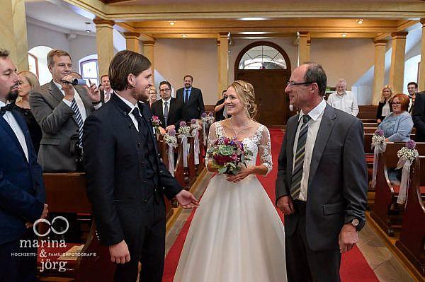 Hochzeit in Laubach - Übergabe der Braut