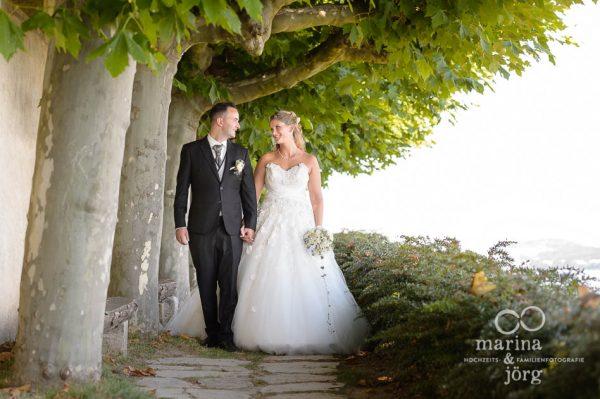 Fotografen-Paar aus Giessen: Hochzeit in der Kirche Ligerz am Bielersee
