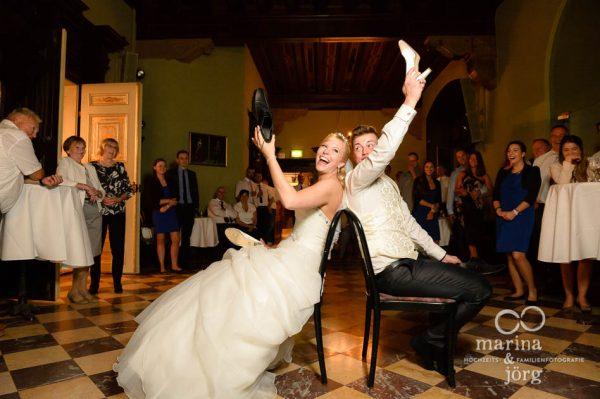 Marina und Joerg, Hochzeitsreportage bei Marburg: Spiele bei der Hochzeit