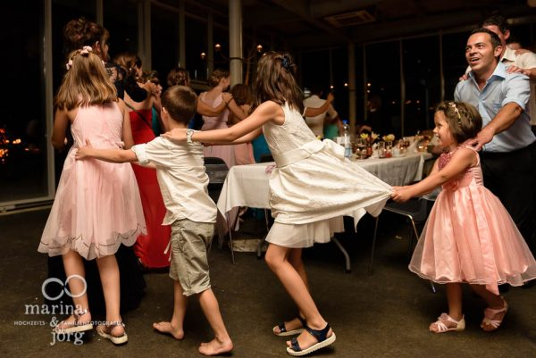 Hochzeitsfotograf Giessen: Kinder bei der Hochzeits-Party