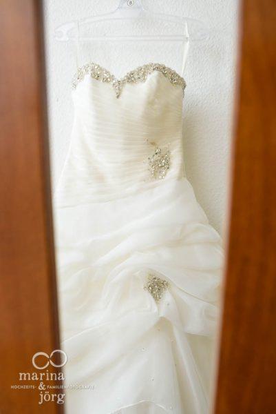 Hochzeitsreportage in Marburg: Brautkleid