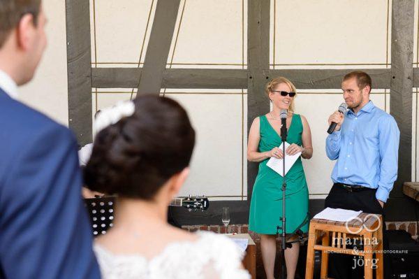 Musikalische Ueberraschung bei einer Hochzeit in der Eventscheune Dagobertshausen bei Marburg