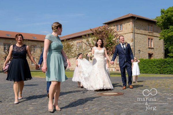 Hochzeit im Schloss Butzbach bei Gießen - Hochzeitsreportage