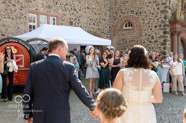 Hochzeitsreportage: Empfang im Schloss Butzbach bei Gießen