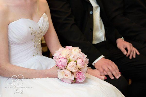 Brautstrauss - Hochzeit im Standesamt Gießen