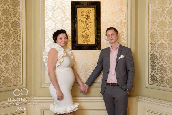 Hochzeitsfoto in der Villa Leutert in Gießen