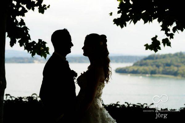 Marina und Joerg, Hochzeitsfotografen-Paar aus Giessen: Hochzeitsfotos an der Kirche Ligerz am Bielersee bei Bern