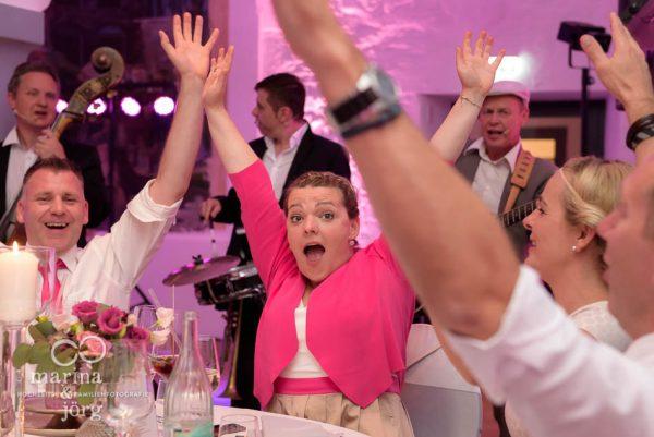 Hochzeitsfotograf Butzbach: geniale Stimmung bei der Hochzeitsparty - Hochzeitsreportage in Butzbach