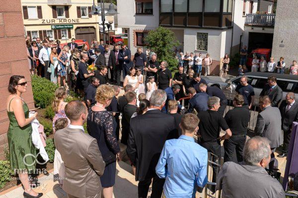 Hochzeit in Gießen: nach der Trauung