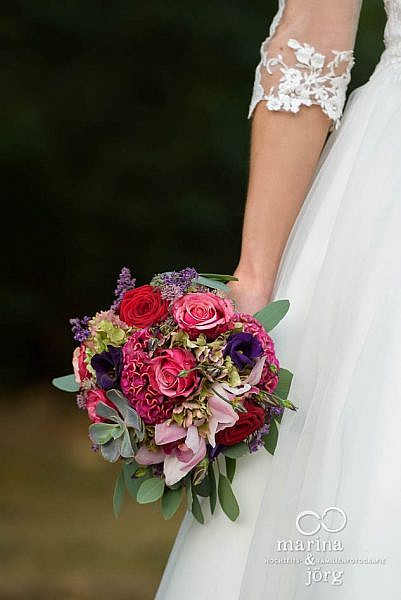 Hochzeitsfotograf Gießen: Brautstrauß
