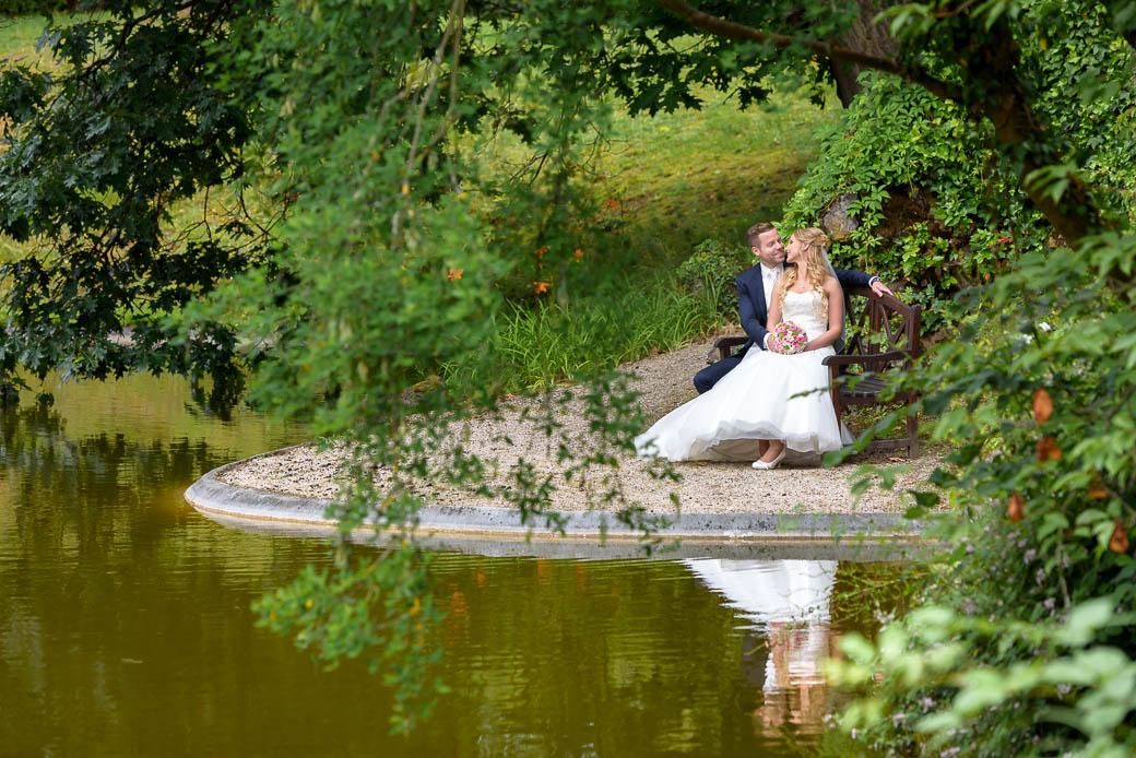 Gailscher Park bei Gießen - traumhafte Kulisse für das Paarshooting bei eurer Hochzeit - Marina & Jörg Hochzeitsfotografie