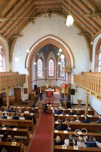 Hochzeitsreportage in Gießen - Hochzeit in der Kirche Annerod
