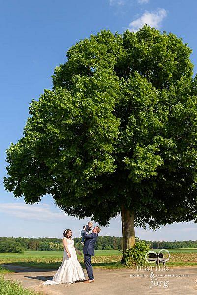 Hochzeitsfotografen Marina & Jörg aus Gießen: After-Wedding-Fotoshooting bei Gießen - Heiraten mit Kind