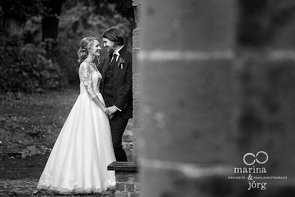 Marina & Jörg Hochzeitsfotografie: After-Wedding-Shooting im Kloster Arnsburg, einer wunderschönen Hochzeitslocation in der Nähe von Gießen