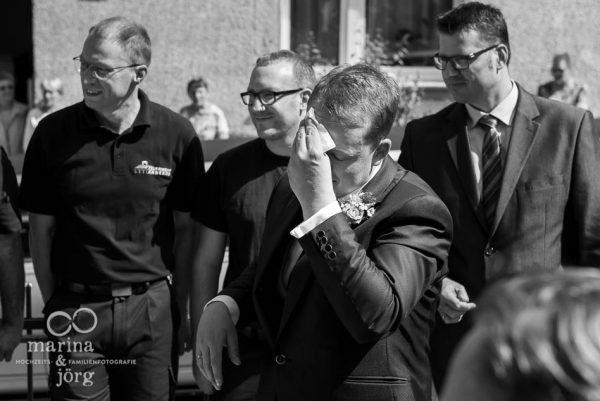Hochzeitfotograf für Gießen, Hochzeitsreportage: Heiraten kann ganz schön anstrengend sein...