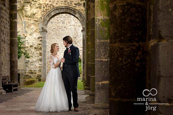 Hochzeitsfotograf Gießen: Paar-Fotoshooting in der Nähe des Landhaus Klosterwald, Lich