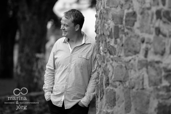 Fotoshooting im Schloss Butzbach - Portrait