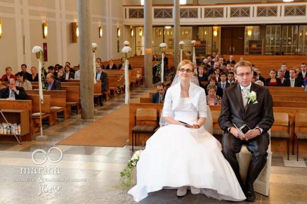 Hochzeitsreportage in Erlangen: kirchliche Trauung