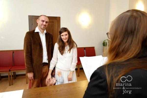 Hochzeit in Marburg: Ja-Wort im Standesamt