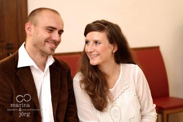 Standesamtliche Trauung im Steinernen Haus in Marburg