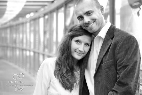 Hochzeitsfotos in Marburg: Paarportrait