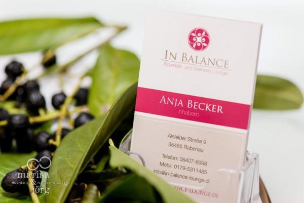 Hochzeitsfotograf Gießen: Styling-Reportage in der In Balance Kosmetik- und Wellness-Lounge
