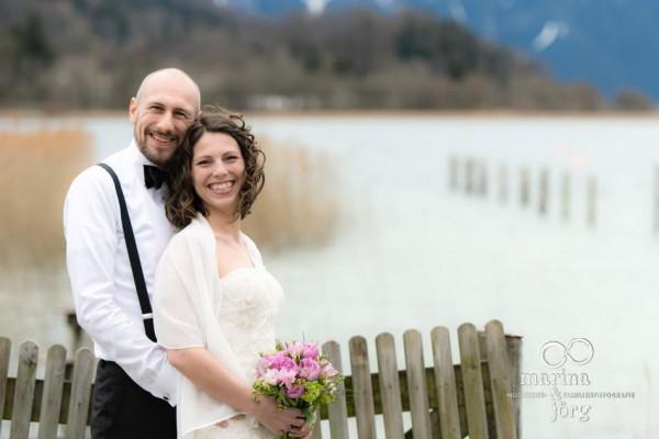 Hochzeitsfotografen Gießen: After-Wedding-Shooting am Tegernsee - Hochzeitsfotos vor traumhafter Kulisse
