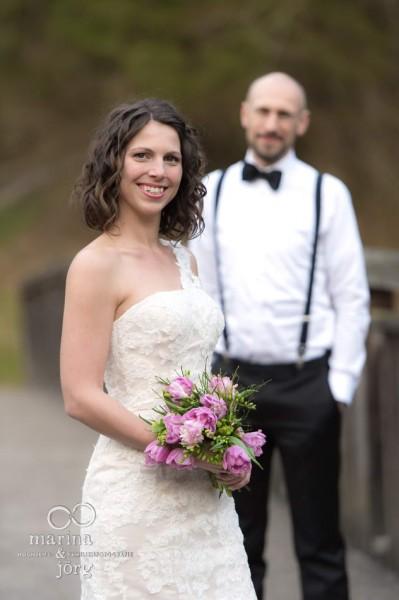 Marina & Jörg, Hochzeitsfotografen Gießen: Brautpaarportrait