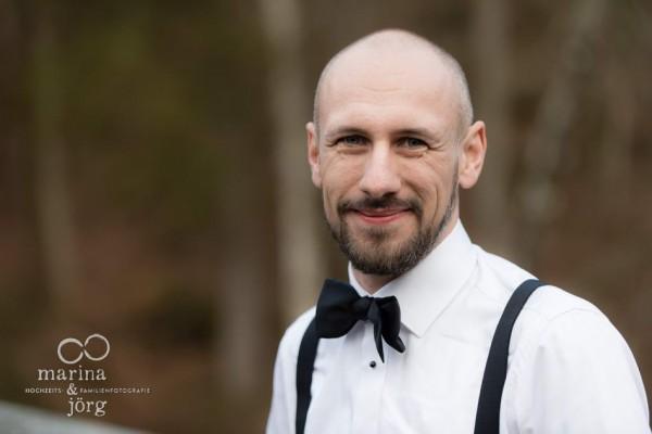 Hochzeitsfotografen Gießen: Portrait des Bräutigams