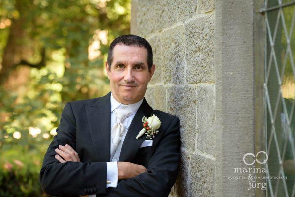 Hochzeitsfotografen aus Gießen - Portrait des Bräutigams