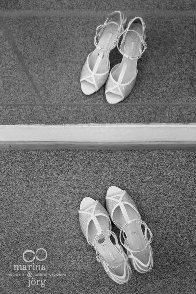 Brautschuhe - Hochzeitsfotograf Gießen