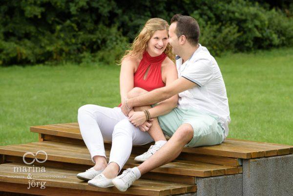 Paar-Fotoshooting mit den Hochzeits-Fotografen Marina und Jörg aus Gießen