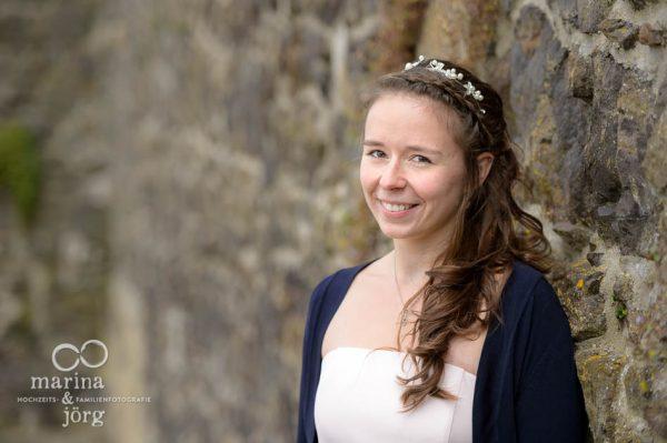 Marina und Joerg, Hochzeitsfotografen Giessen: Brautportrait