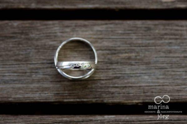 Marina und Joerg, Hochzeitsfotografen Giessen: Eheringe