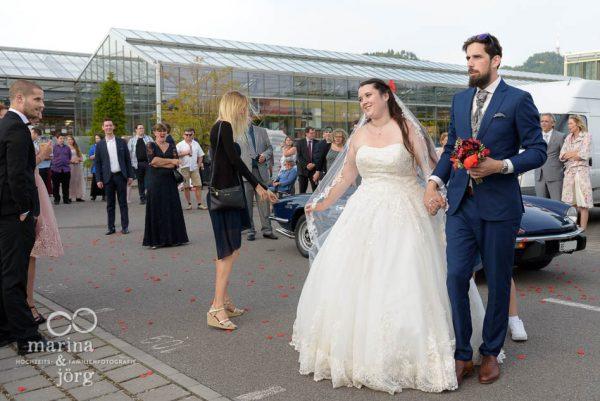 Hochzeitsfotograf Gießen: Hochzeitsfeier im Gartenhaus Wyss in Ostermundigen bei Bern