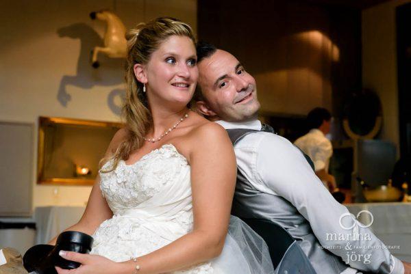 Hochzeits-Fotograf Giessen: Hochzeitsspiel bei einer Hochzeitsreportage