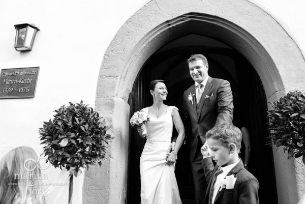Hochzeit bei Marburg: Hochzeitsfotos im Reportagestil